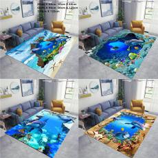 doormat, Home textile, living room, dolphin