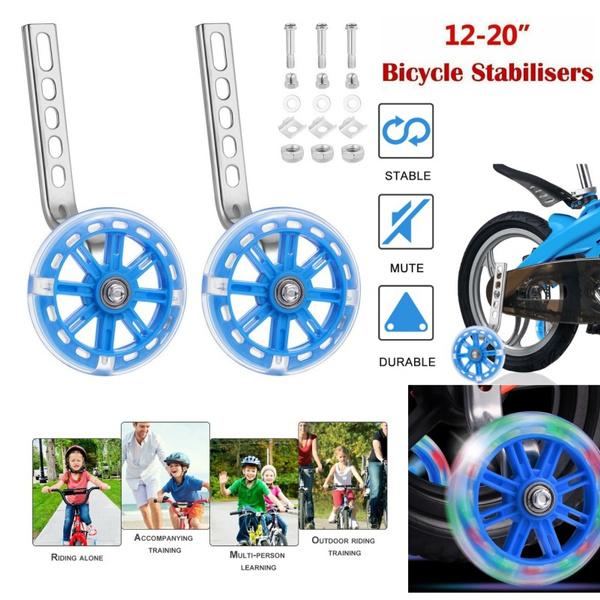 bicyclebalancewheel, Adjustable, glowingtrainingwheel, Sports & Outdoors