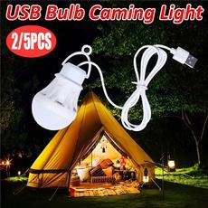 Light Bulb, Exterior, led, camping