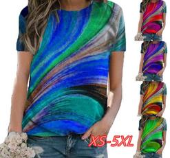 blouse, Deep V-Neck, Plus Size, Shirt