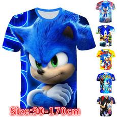 sonic, Tees & T-Shirts, Necks, Sleeve
