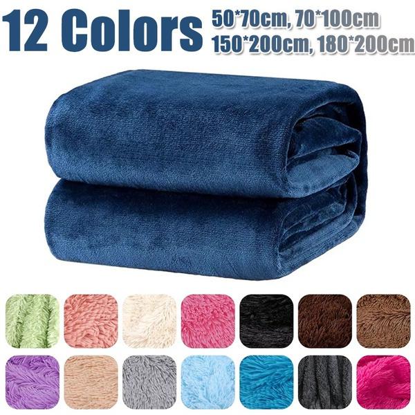 Fleece, plaid, bedblanket, Throw Blanket