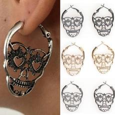 Goth, vintagedropearring, Jewelry, vintage earrings
