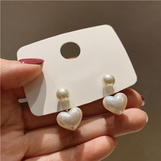 earringforwomen, Heart, korea, Jewelry