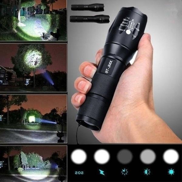 Flashlight, Outdoor, Lanterns & Lights, Hiking