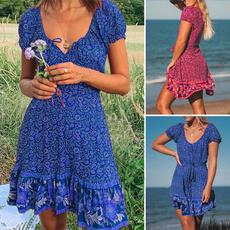 Mini, summer dress, Summer, plus size dress