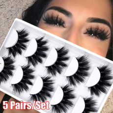Eyelashes, slim, Natural, Beauty