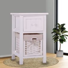 sidetable, Home & Living, woodsidetableround, Storage