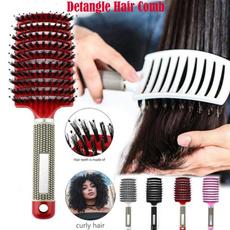 hairmassagecomb, hairdressingstylingtool, Combs, Nylon