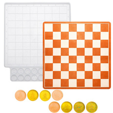 chessmold, Chess, Silicone, chessboardmould