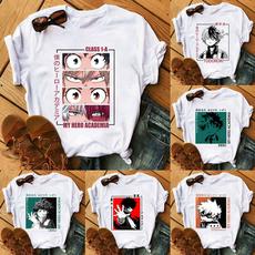myheroacademiashirt, Fashion, Graphic T-Shirt, roundnecktshirt