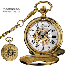 case, menspocketwatch, automaticpocketwatch, Vintage