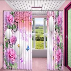pink, 3dprintingcurtain, Luxury, pinkcurtain