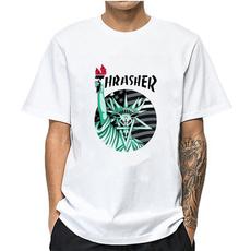 Summer, Fashion, Cotton Shirt, Necks