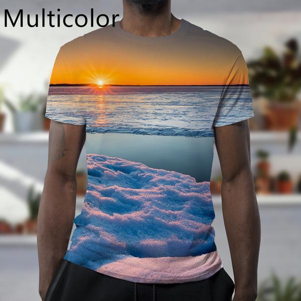 Beautiful, scenery, Shorts, Shirt