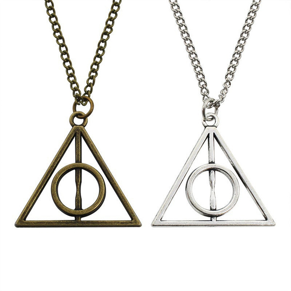 triangulo, accesorio, Chain Necklace, Fashion
