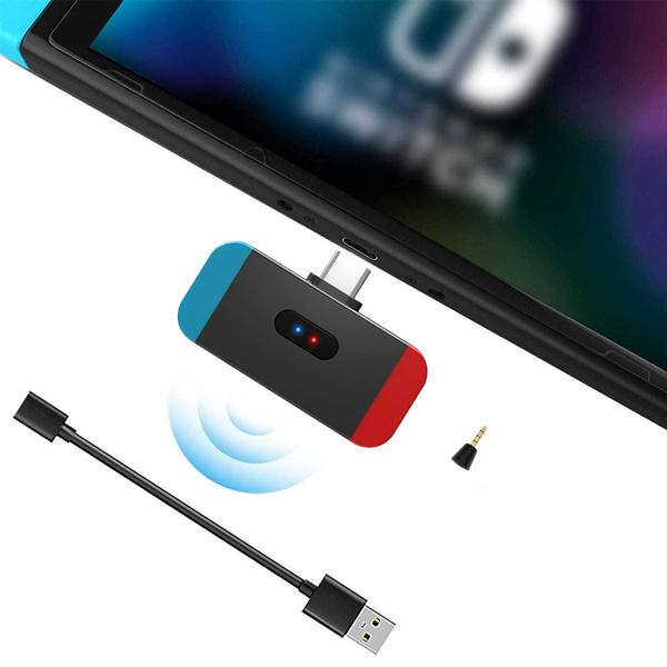 Transmitter, Nintendo, Adapter, Headphones