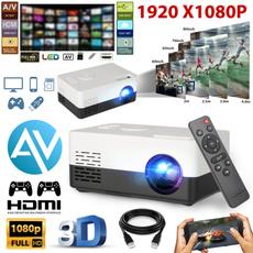 Mini, led, projector, TV