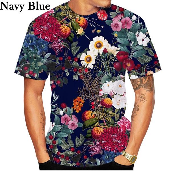 Summer, summer t-shirts, Floral print, Shirt