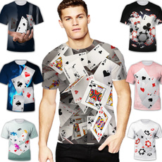 Mens T Shirt, Poker, Fashion, Shirt