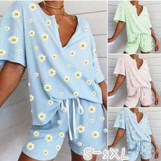 Summer, Shorts, Shirt, Elastic