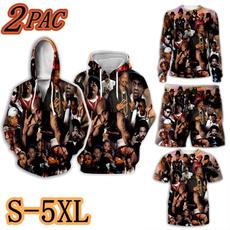 joggingpant, hiphopsweatshirt, tupac, 3D hoodies