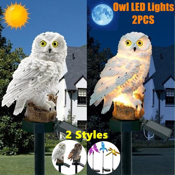 Owl, solarlight, solargardenlight, Garden