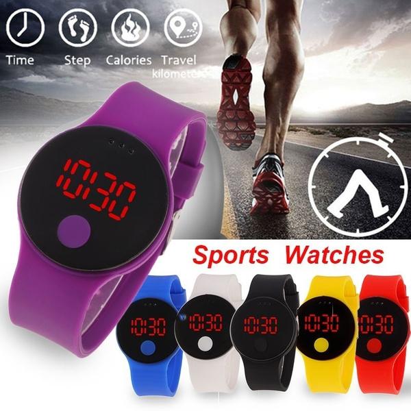 LED Watch, Fashion, silicone watch, Waterproof
