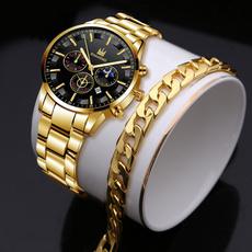 Fashion, business watch, wristwatch, Stainless Steel