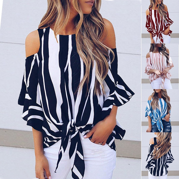Summer, Plus Size, off the shoulder top, tunic top