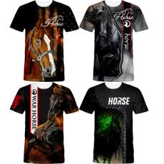 , horse, Fashion, Shirt