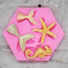handmadesoapmold, starfish, Mini, Silicone