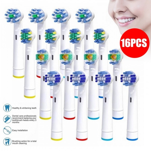 Electric, toothbrushhead, oralbreplacementhead, electronicbrush