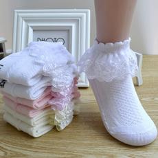 Summer, Cotton Socks, Lace, Dance