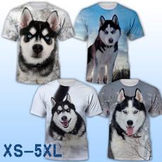 Mens T Shirt, siberianhusky, Shorts, Shirt