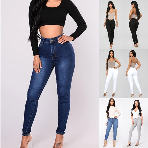 pencil, high waist, pants, women's pants
