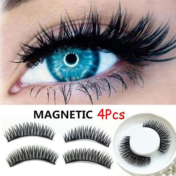 Eyelashes, Magnet, blackeyelash, Eye Makeup