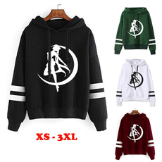 Fashion, Tops, anime hoodie, Pullovers
