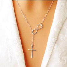 Sterling, ジュエリー, Cross Pendant, Simple