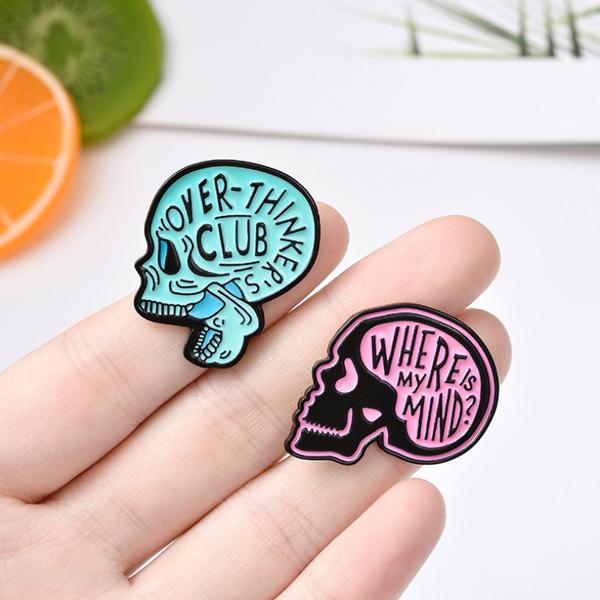 Funny, Fashion, Jewelry, Pins