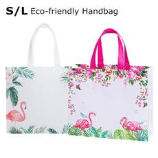reusablebag, flamingo, Totes, Bags