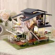 kidtoypuzzle, housebuildingmodel, woodendollhouse, Cover