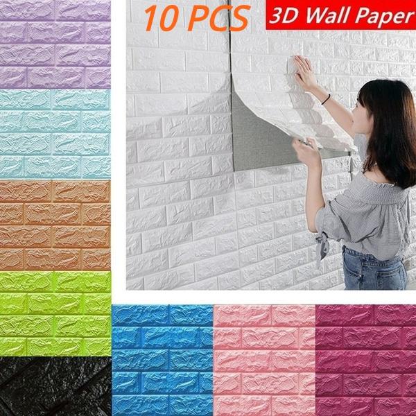 3dbrickwallpaper, Stickers, Wallpaper, Cover
