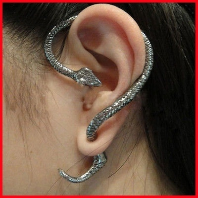 Clip, Stud Earring, exaggerated, punk