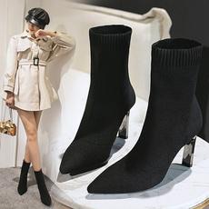 Fashion, Socks, knitted, Women's Fashion