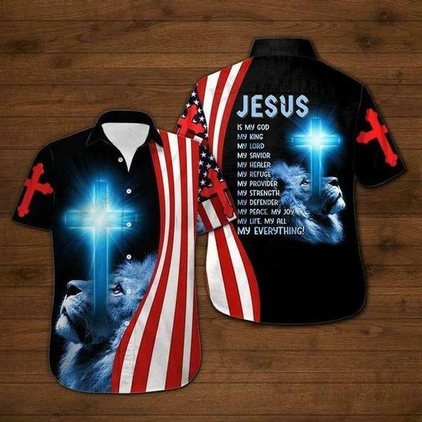 Fashion, Christian, Shirt, Hawaiian