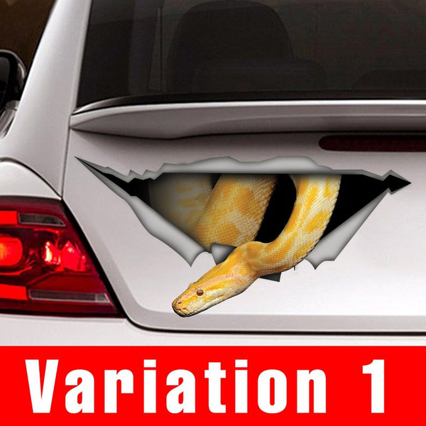 reptile, python, Cars, Stickers