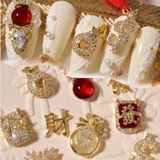 snowflakenailzircon, art, nailrhinestone, Jewelry