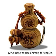 decoration, Key Chain, peach, Chinese