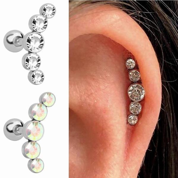 Steel, Jewelry, Beauty, Crystal